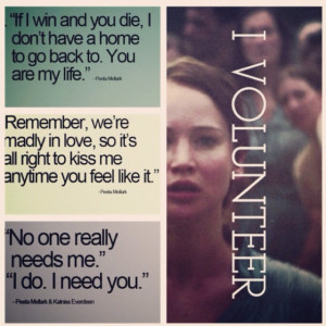 The Hunger Games quotes.