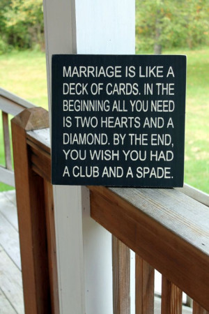 Funny Marriage Wall Quote