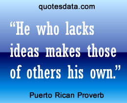 Picture Popular Central American & Caribbean proverbs