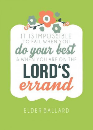 Elder M. Russell Ballard | More viral quotes from LDS general ...