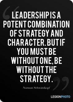 Quote by Norman Schwarzkopf #military #quote #inspiration #schwarzkopf ...