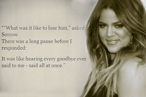 Khloe Kardashian is no stranger to sharing emotional quotes on social ...