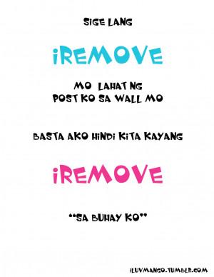 Joke Quotes Tagalog Lo #tagalog love quotes