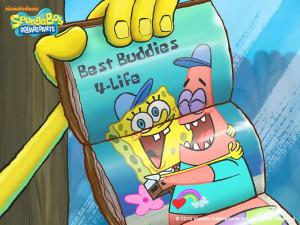 sponge and patrick friends forever - spongebob the best...