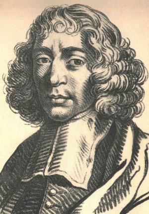 Baruch Spinoza, later Benedict de Spinoza