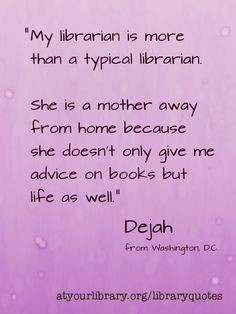 Do you love your library? Share your story. atyourlibrary.org ...
