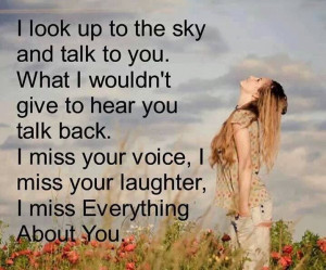 miss everything about you