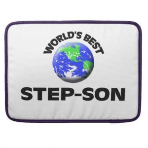 World's Best Step-Son MacBook Pro Sleeve