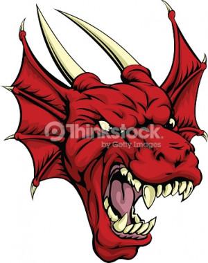 Red Dragon Clip Art