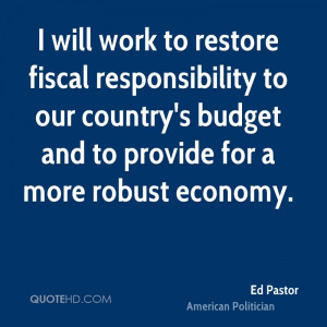 Ed Pastor Quotes
