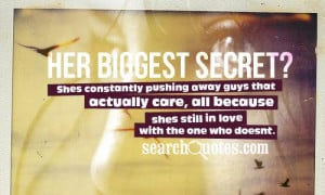 Secret Love Quotes about Complicated Love