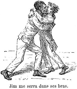 relationship between huckleberry finn and jim mark twain s In the novel by mark twain, the adventures of huckleberry finn, the two main characters, huck and jim, are strongly linked their relation is portrayed by various sides, some of them good and some others bad.