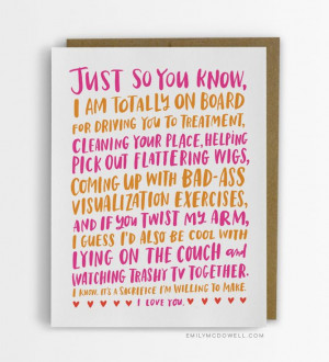 Cancer Survivor Designs the Cards She Wishes She'd Received From ...