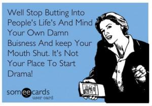 Own Business Quotes   MmmmHmmmm..... #ecard #Ecards #business mind ...