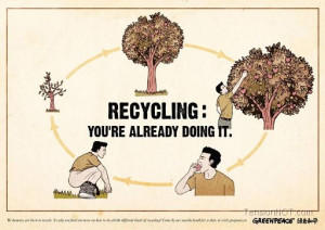 Related Pictures blog funny recycling sayings