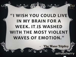astrolocherry:Star Sign QuotesThe Water TriplicityScorpio, Pisces and ...