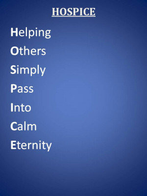 Hospice Volunteer...
