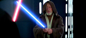 This Lightsaber was created by Obi-Wan Kenobi. It was his third ...