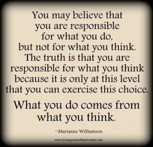 Responsibility - Thoughtfull quotes Picture