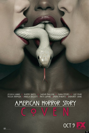 """American Horror Story: Coven """"Slither"""" Teaser is a Mouthful"""