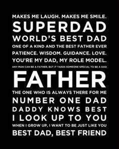 looks dad and possibly i m as lucky as can be for the world s best dad ...
