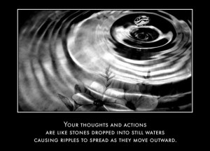 Daily OM - The Ripple Effect