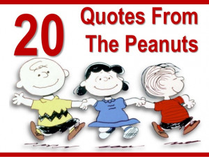 Charlie Brown And Snoopy Friendship Quotes 20 great quotes from the