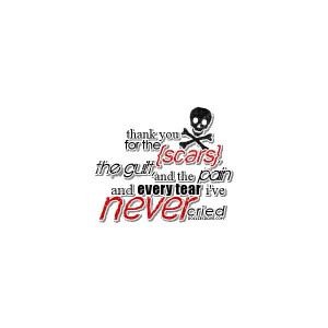 Emo Quotes liked on Polyvore