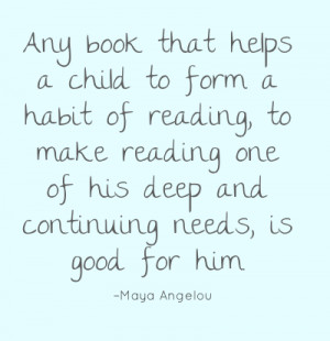 Quotes About Reading Books To Babies ~ Blethering Boys: Encouraging ...