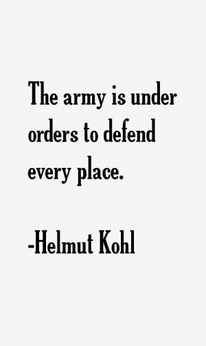 Helmut Kohl Quotes & Sayings