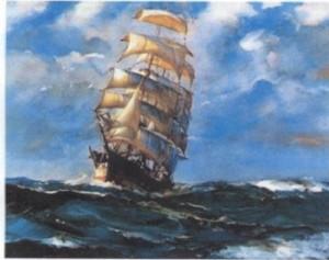 sailing-ship-on-the-ocean