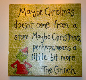 The Grinch Quotes Sadly the clock died,