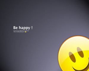 "Be Happy "" ~ Smile Quote"