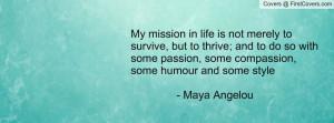 Maya Angelou Facebook Covers