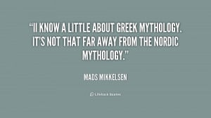 Greek Mythology Quotes
