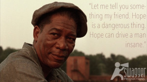 The Shawshank Redemption, Morgan Freeman #film #quotes
