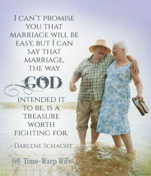 Marriage the way God intended it.....