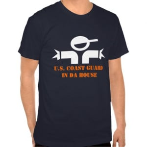 Funny t-shirt with quote for US Coast Guard