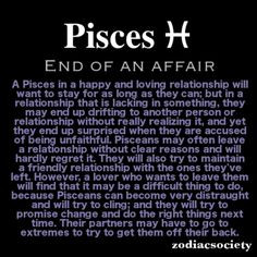 Signs a pisces man is not interested
