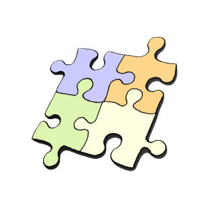 Provide a 50-piece jigsaw puzzle to a small group of children and ask ...