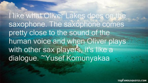 Top Quotes About Saxophone