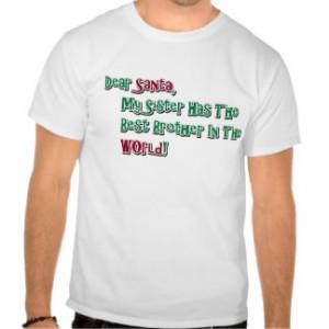 Funny Sister Sayings T-shirts & Shirts