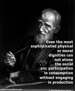 Even the most sophisticated physical or moral dignities can not atone ...