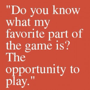 Mike Singletary Opportunity Quote