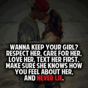 Quotes about respect her care for her
