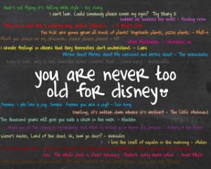 Best Disney Movie Quotes http://the-pop-box.blogspot.com/2010/03/youre ...