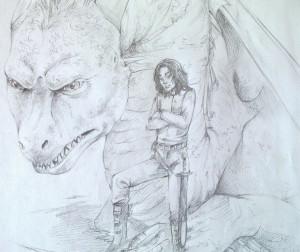 Eragon Saphira Dragon First...
