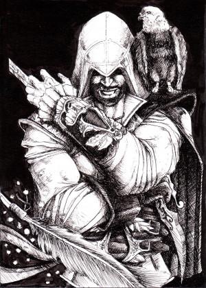 Ezio Auditore Herdi Fan Art