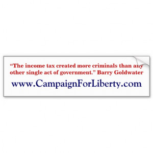 Barry Goldwater quote bumper sticker