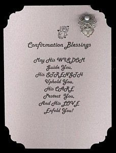... poem inspirational | Name: Confirmation Blessings Angel Pin Set